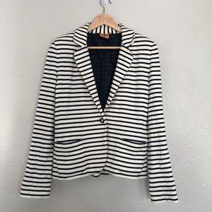 Tory Burch Striped Jacket Medium